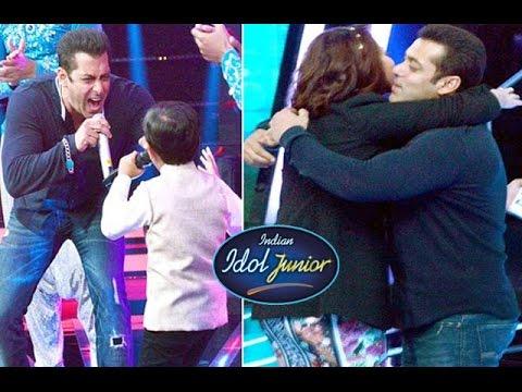 Salman Khan BLASTS with Kids & Sonakshi Sinha | 'Indian Idol Junior'