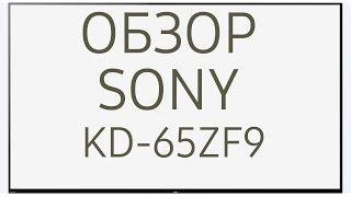 Обзор телевизора SONY KD-65ZF9 (KD65ZF9, KD65ZF9BR, KD-65ZF9BR, KD65ZF9BR2, ZF9)