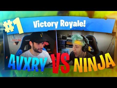 Avxry VS Ninja! My BEST Game Yet! - Fortnite Battle Royale