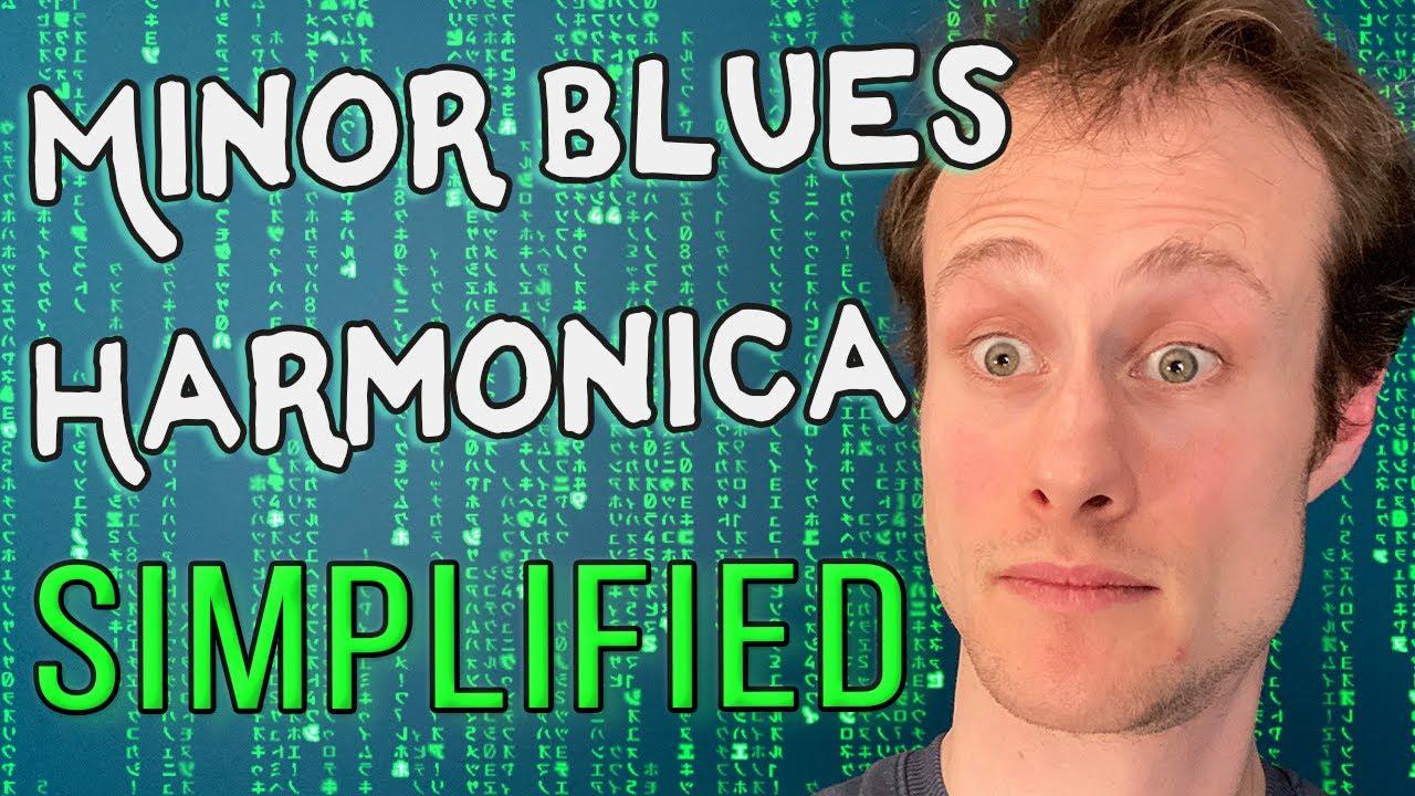 Minor Blues Harmonica SIMPLIFIED