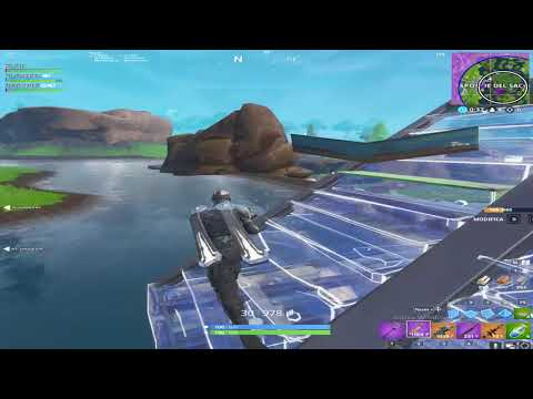Fortnite ITA: Six Layer Final Ramp Rush (Squad Game)