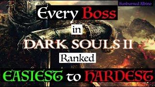 All Dark Souls 2 Bosses Ranked Easiest to Hardest