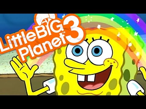 Little Big Planet 3 - I'M READY I'M READY FOR ROUND 2! - LittleBigPlanet 3 Spongebob Deathrun