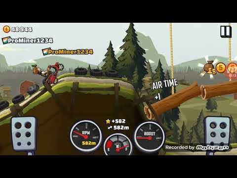 Driving in  forest and city with Hill climber and Scottie|Hill climb racing 2|ProMiner1234 |