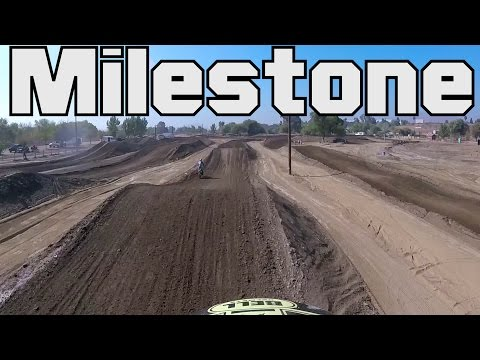 Riding at Milestone - it feels good to ride again