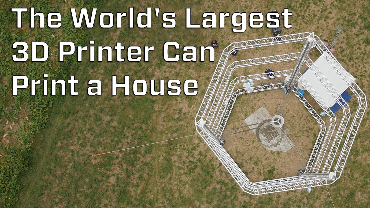 The Worlds st 3D Printer Can Print A House