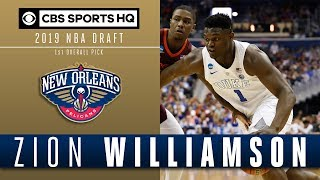 New Orleans selects Zion Williamson with the first overall pick | 2019 NBA Draft | CBS Sports HQ