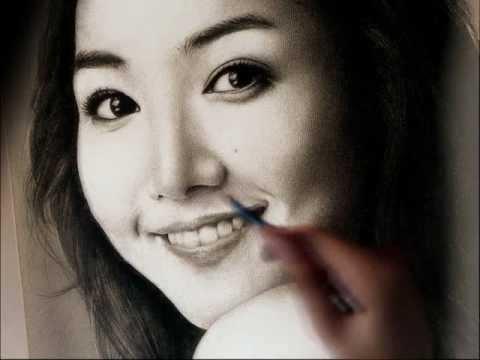 Vẽ Kim Na Na (video) trong 5 phút
