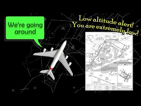 [REAL ATC] Emirates A380 receives LOW ALTITUDE ALERT (~200AGL)