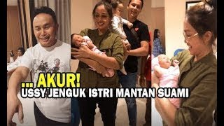 Download Lagu Ussy Sulistiawaty Jenguk Istri Gubernur Kalimantan Tengah yang Baru Melahirkan mp3