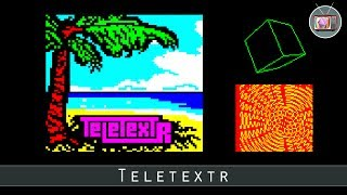 Teletextr by Bitshifters, 2017 (BBC Micro Demo)