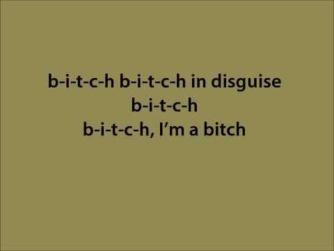 The plastiscines - Bitch [lyrics]