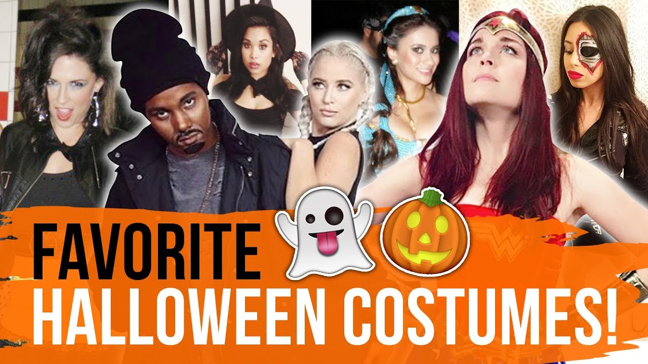 our favorite halloween costumes! (dirty laundry) - youtube