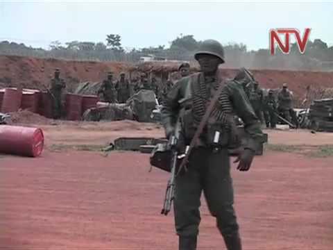 Uganda, Congo defense ministers meet