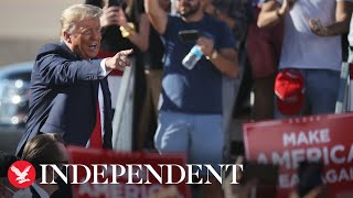 Key moments from Donald Trump's rallies in Arizona