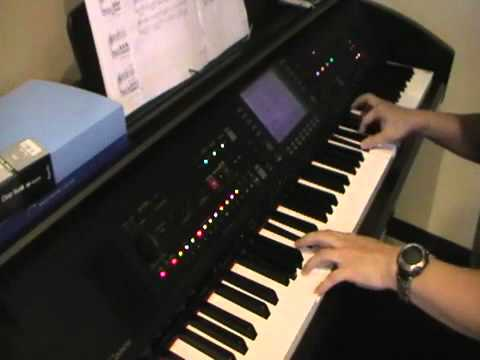 mia composizione al piano yamaha clavinova cvp 709 youtube. Black Bedroom Furniture Sets. Home Design Ideas