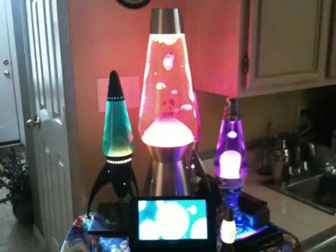 My Lava Lamp Collection - YouTube