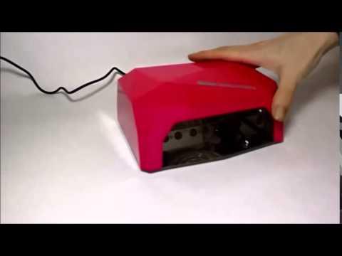 Лампа LED+CCFL 36Вт (сенсор) - YouTube