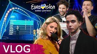 VLOG: Национальный отбор на Евровидение 2018 / Второй полуфинал / MELOVIN, KADNAY, TAYANNA
