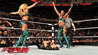 Divas 7-on-7 Survivor Series Elimination Tag Team Match: Raw, Nov. 25, 2013