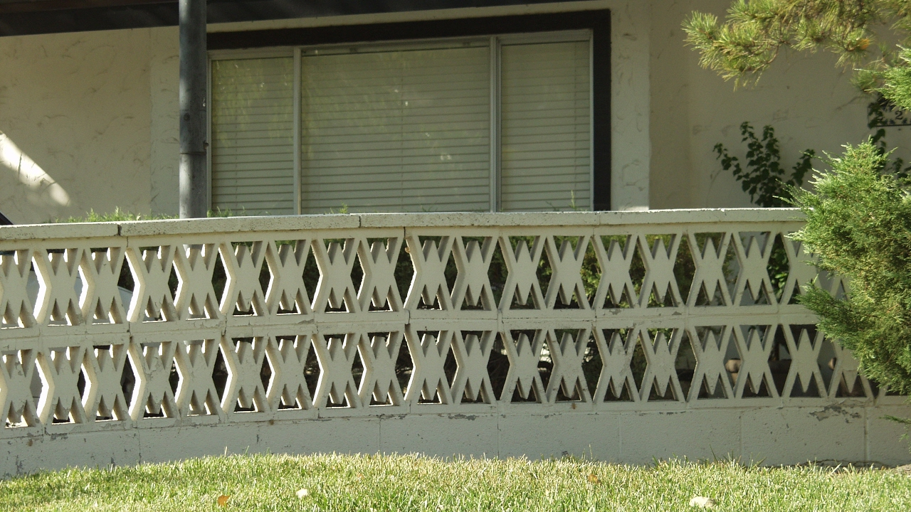 screen no pin required decorative part concrete pattern block decor