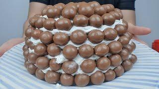 SUB) [야매베이킹] - 몰티져스로 케이크를 만들어보…