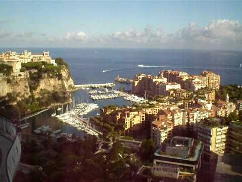 Julian Cheah In Monte-Carlo, Monaco - Aerial View From The Exotic Gardens - Video 2 - September 2010