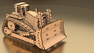 Dozer: 3d Assembly Animation