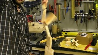 Tumbling Blocks / Jacob's Ladder / Click Clack Wooden Toy