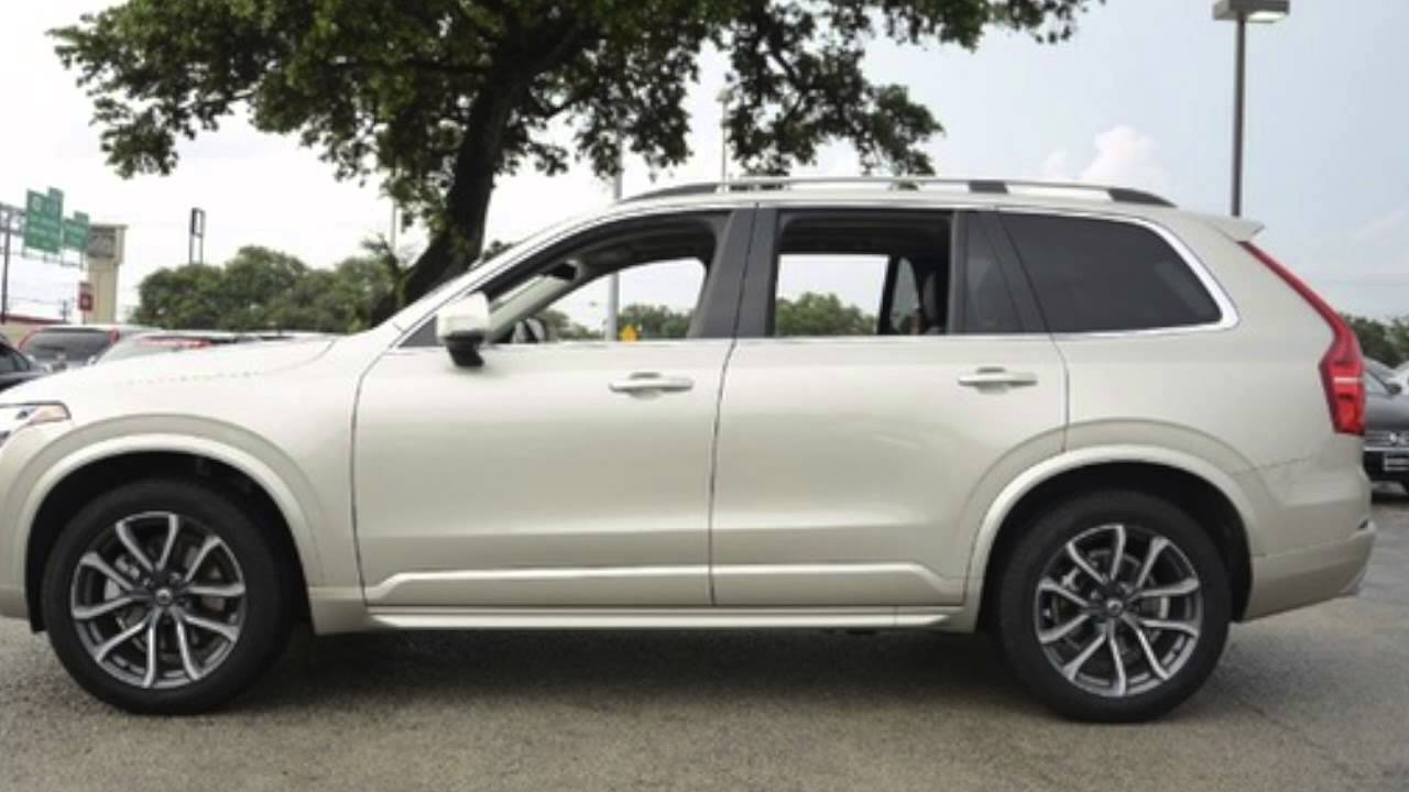 2016 volvo xc90 t6 momentum for sale in san antonio youtube. Black Bedroom Furniture Sets. Home Design Ideas