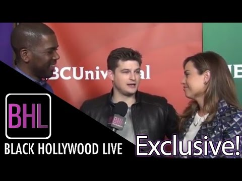 """Kevin Bigley's & Jessica McNamee from USA's """"Sirens"""" @ NBC Winter Press Tour 
