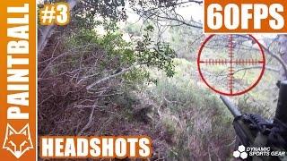 Paintball Sniper - 3 billes 2 headshots - France