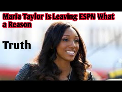 Maria Taylor Is Leaving ESPN After A Colleague's Remarks About ...