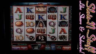 Bombay Slot Play - Quest for the $1 Million Jackpot!!
