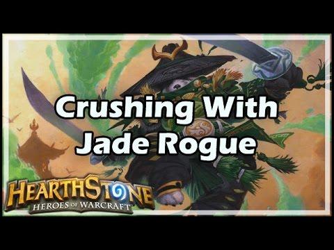 [Hearthstone] Crushing With Jade Rogue