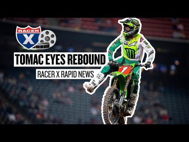 Eli Tomac Eyes Houston 2 Rebound | Racer X Rapid News