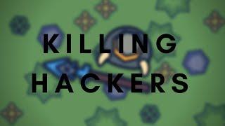 MooMoo.io Killing HACKERS