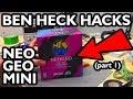 Ben Heck Neo Geo Mini Teardown Part 1