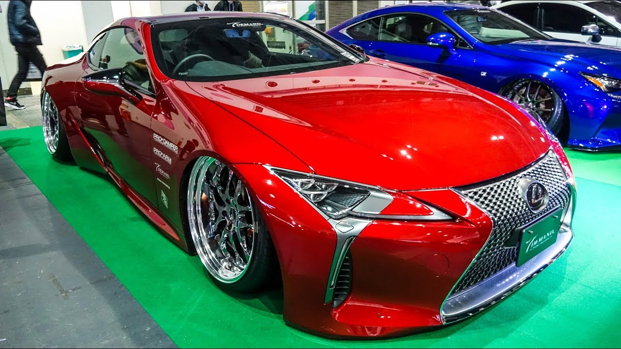 (4K)T-DEMAND LEXUS LC500 modified ティーディメンド レクサスLC500 カスタム - OSAKA AUTO MESSE 2019