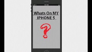 WHATS ON MY IPHONE ? XD | MaxTube Tv