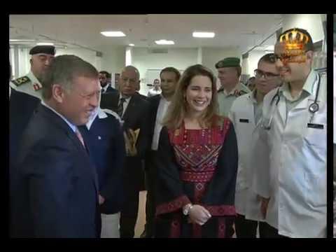 جلالة الملك يفتتح مستشفى الأميرة هيا بنت الحسين العسكري في عجلون