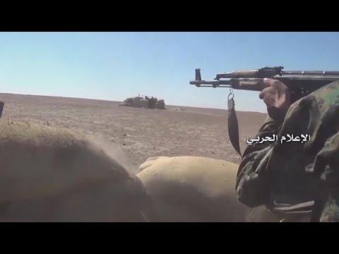 Suriye'de rejim askerlerinin öldüğü...