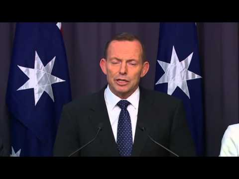 Abbott government commits to cutting Australia's carbon emissions by 26 percent