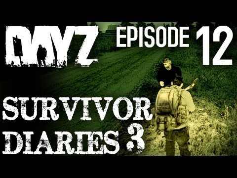 Day Z Survivor Diaries 3 - Episode 12: Cherno flare shenanig
