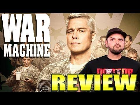 War Machine | Netflix Original Film Review (Brad Pitt & Anthony Michael Hall)
