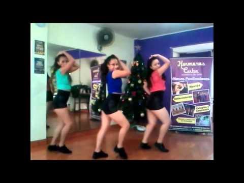 Dígame Usted Y Ginza (mix Reggaeton) Coreografía - Academia De Baile Hermanas Cuba