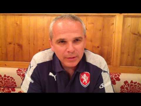 Trenér U21 Vítězslav Lavička hodnotí druhý zápas s Albánií (1:1)