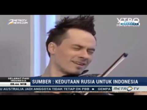 METRO TV Pagi Ini German Dmitriev - Indonesia Raya