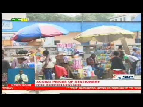 Accra: Increment In Sale Of Stationery