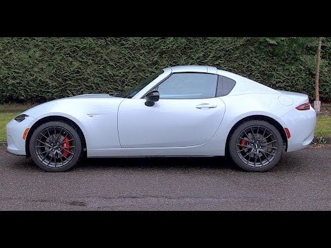 Mazda MX 5 RF Review--Love the drive, not digging the style!
